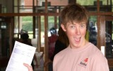 Malton School A level results day 2009