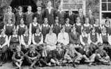1920s Malton Grammar School group